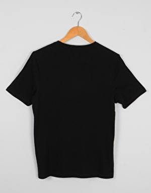 Element Bark Horizontal Boys T-Shirt - Flint Black