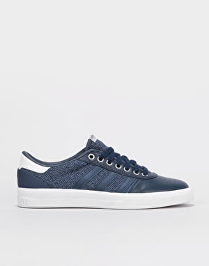Adidas Lucas Premiere Skate Shoes - Collegiate Navy/Onix/Crystal White