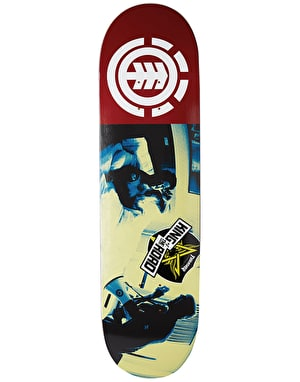 Element x KOTR Bam Wake Up Skateboard Deck - 7.75