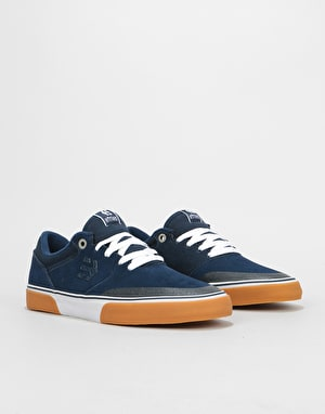 Etnies Marana Vulc Skate Shoes - Navy/Gum/White