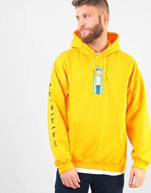 Primitive x Rick & Morty Morty Vortex Pullover Hoodie - Gold