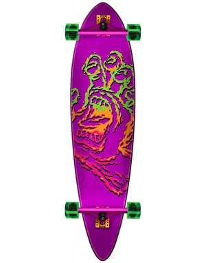 Santa Cruz Throwdown Hand Pintail Longboard - 39