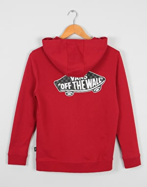 Vans Exposition Boys Zip Hoodie - Chili Pepper/Checkerboard