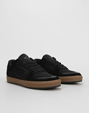 Emerica Reynolds G6 Skate Shoes - Black/Gum