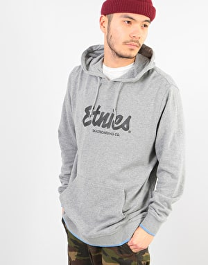Etnies Speed Pullover Hoodie - Grey/Heather