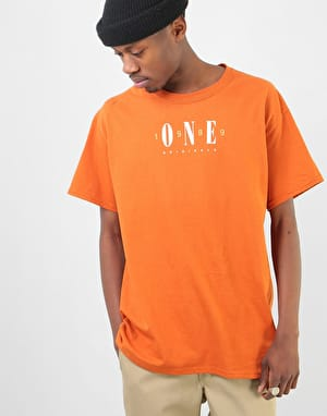 Route One Originals T-Shirt - Deep Orange