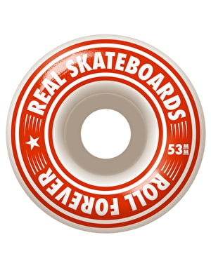 Real Oval Fades Complete Skateboard - 7.75