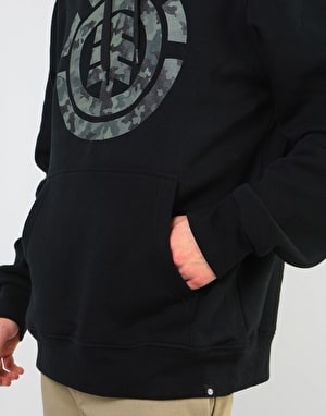 Element Bark Logo Pullover Hoodie - Flint Black