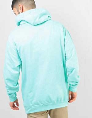 Route One Peonies OG Pullover Hoodie - Peppermint