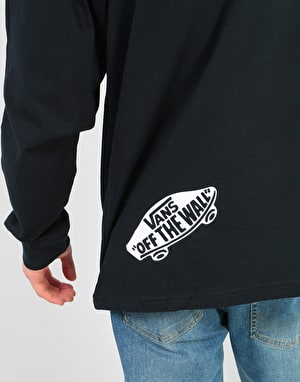 Vans Distorted L/S T-Shirt - Black