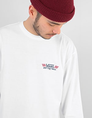 Vans Crossed Sticks L/S T-Shirt - White