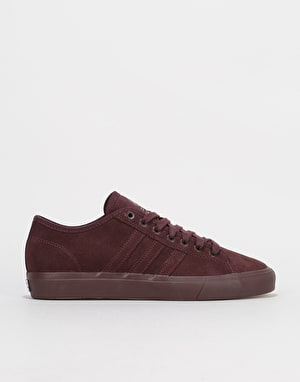 Adidas Matchcourt RX Skate Shoes - Black/Hi-Res Red/Gold Metallic