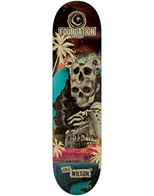 Foundation Wilson Nuclear Skateboard Deck - 8.25