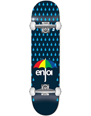 Enjoi Raining Panda Soft Wheel Complete Skateboard - 7.625