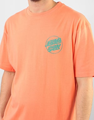Santa Cruz Coloured Hand T-Shirt - Coral