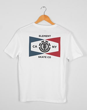 Element Segment Boys T-Shirt - Optic White