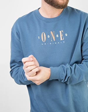 Route One Originals Sweatshirt - Force Blue