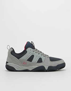 éS Silo Skate Shoes - Grey/Navy