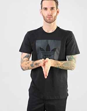 Adidas BB Solid T-Shirt - Black/Carbon