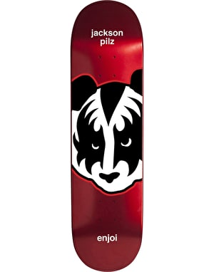 Enjoi Jackson Kiss Metallic Skateboard Deck - 8.375