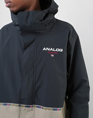 Analog Blast 2019 Snowboard Jacket - True Black/Twill
