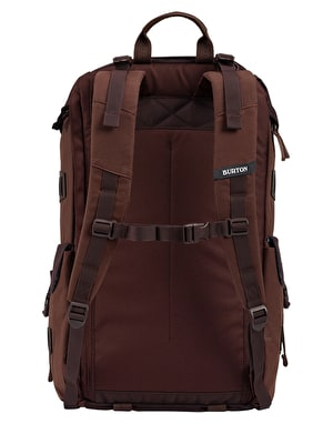 Burton Annex Pack - Cocoa Brown Waxed Canvas