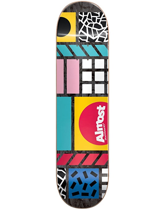 """Almost New Wave Skateboard Deck - 8"""""""