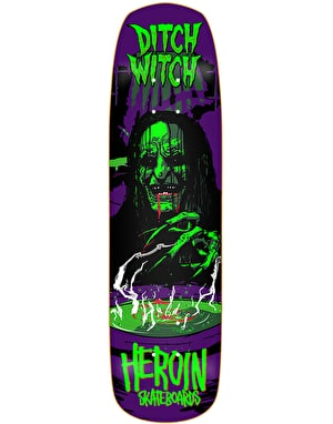 Heroin Ditch Witch II Skateboard Deck - 8.6