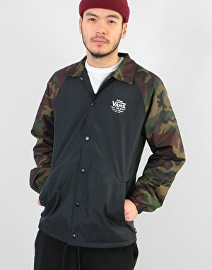 Vans Torrey Coach Jacket - Black/Camo