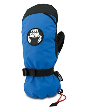 Crab Grab Cinch 2019 Snowboard Mitts - Blue