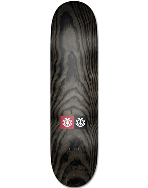 Element Nassim Peace Skateboard Deck - 8.3