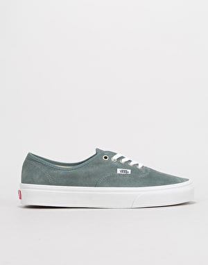 Vans Authentic Skate Shoes - (Pig Suede) Stormy Weather/True White
