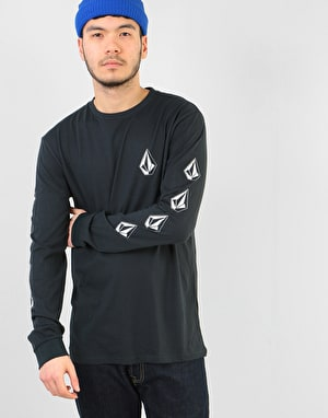 Volcom Deadly Stone L/S T-Shirt - Black