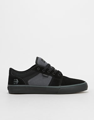 Etnies Barge LS Skate Shoes - Black/Grey/Black