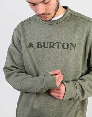 Burton Oak Sweatshirt - Clover Heather