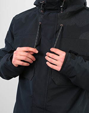 DC Haven 2019 Snowboard Jacket - Black DCU Reflective Camo