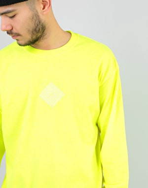 The National Skateboard Co. Classic L/S T-Shirt - Safety Green