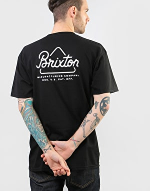 Brixton Newbury T-Shirt - Black