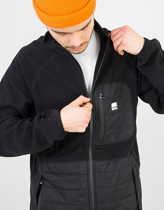 ThirtyTwo Logan Polar Fleece Bomber - Black