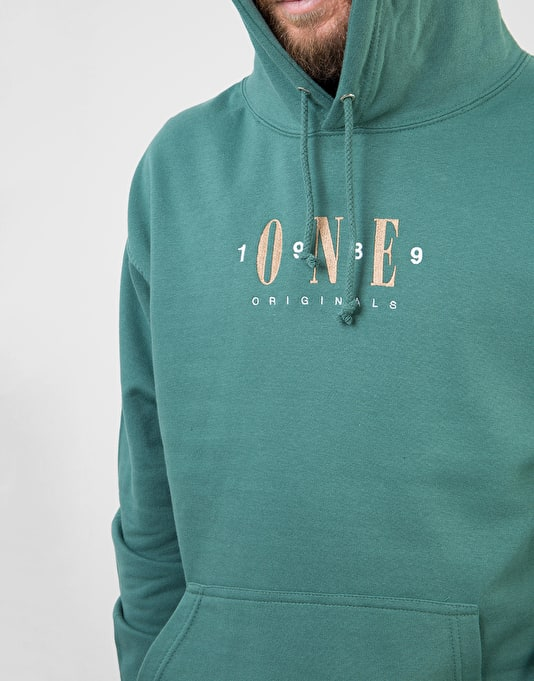Route One Originals Pullover Hoodie - Moss