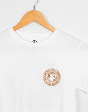 Volcom Volcomsphere Boys T-Shirt - White