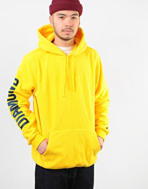 Diamond Diamond Polar Fleece Pullover Hoodie - Yellow