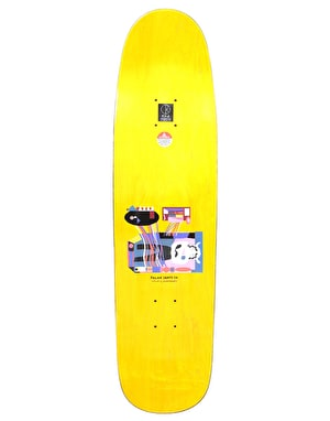 Polar Grund Frequency Skateboard Deck - P9 Shape 8.625