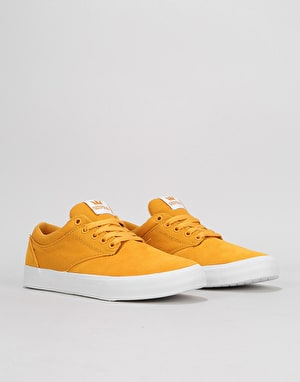 Supra Chino Skate Shoes - Golden/White