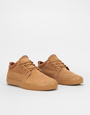 Globe Chukka Skate Shoes - Tobacco Brown