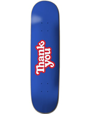 Thank You Logo Skateboard Deck - 8.25""