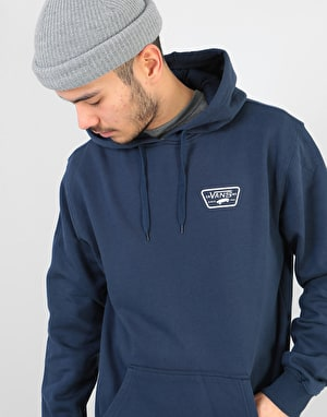 Vans Full Patched Pullover Hoodie - Dress Blues