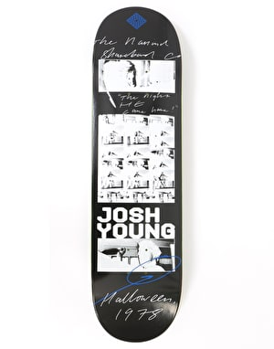 The National Skateboard Co. Young Halloween Skateboard Deck - 8.375