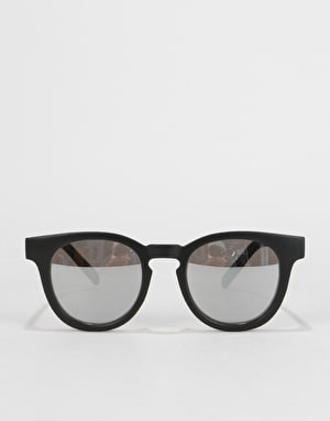 Vans Wellborn II Sunglasses - Matte Black/Silver Mirror