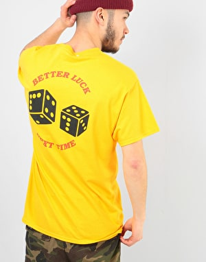 Route One Better Luck Next Time T-Shirt - Gold